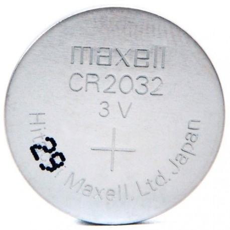 CR2032 / Pile bouton lithium blister MAXELL 3V 210mAh : par blister 1