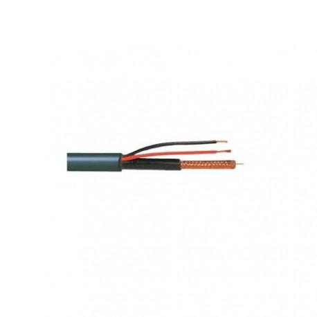 Câble micro coaxial combi RG-174+2x0,75