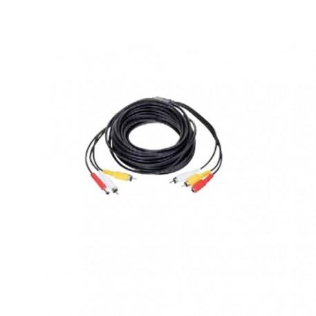 câble coaxial rallonge de signal vidéo et del'alimentation